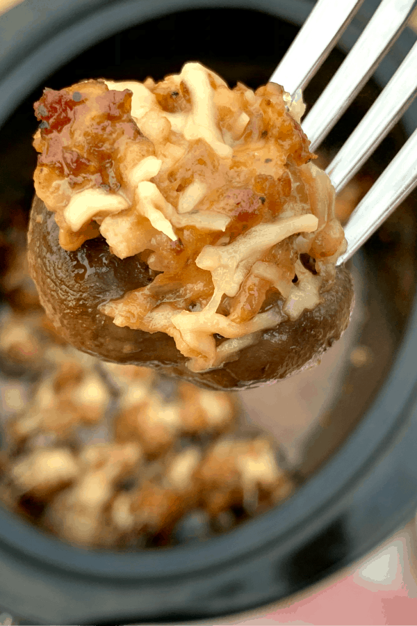 cheesy stuffed mushroom recipe
