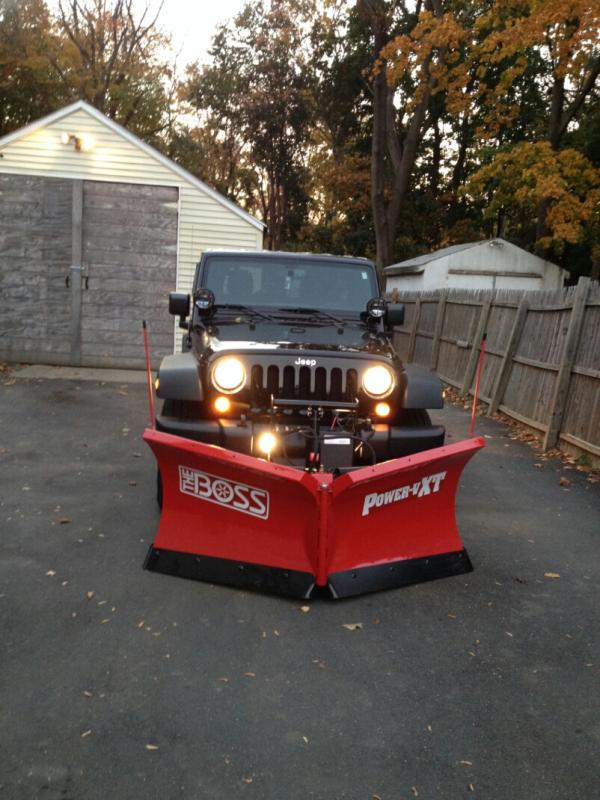 Snow Plows For Jeep Wranglers : plows, wranglers, Wrangler, Largest, Community, Plowing, Management, Professionals., Discussions, Weather,, Equipment, Growing, Business.