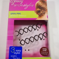 Goody Simple Style - Spin Pin, Modern Updo, Volume Boost - Review, Photos