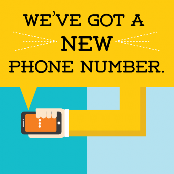 We've Got A New Phone Number!  Powerful Learning Practice