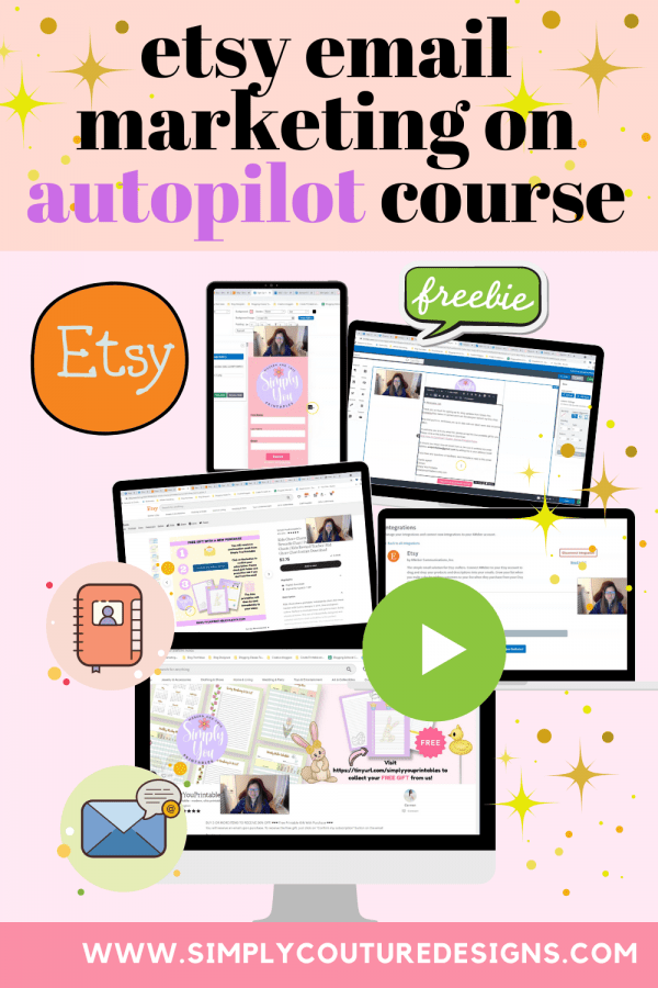 Pin Etsy Email Marketing Course