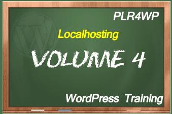plr4wp Volume 4 WordPress Localhosting