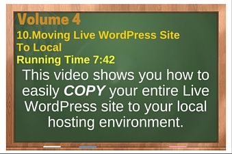 plr4wp Vol 4 Video 10 Moving Live WordPress Site To Local