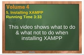 plr4wp Vol 4 Video 5 Installing XAMPP