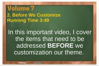 PLR 4 WordPress Vol 7 Video 2 Before We Customize