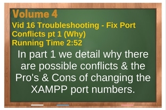 PLR for WordPress Volume 4 Video 16 Fixing Port Conflicts pt 1 (Why)