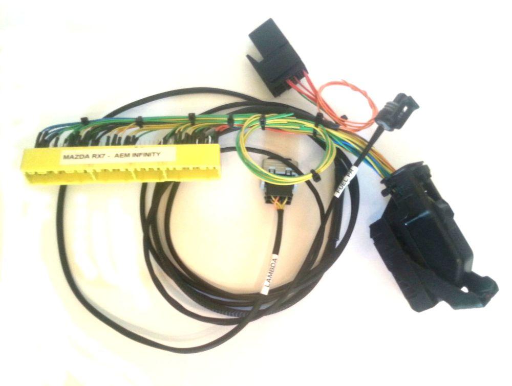 medium resolution of mazda rx7 aem infinity plug n play ecu