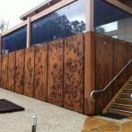 'Wildlife of Australia' Screens - Olinda Tea House, Olinda