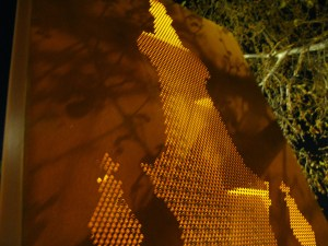 Lightbox - Church Street Bridge, Cremorne (Punched Corten)