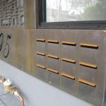'Pebbles' Screens and Garage Door (Wellington Road, St. Kilda)