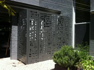 'Cityscape' Screens (Powder Coated Aluminium)