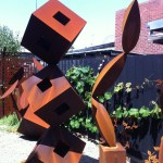 Metal Steel Sculpture