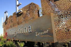 Signage with 'Honeycomb' Screens, Truganina