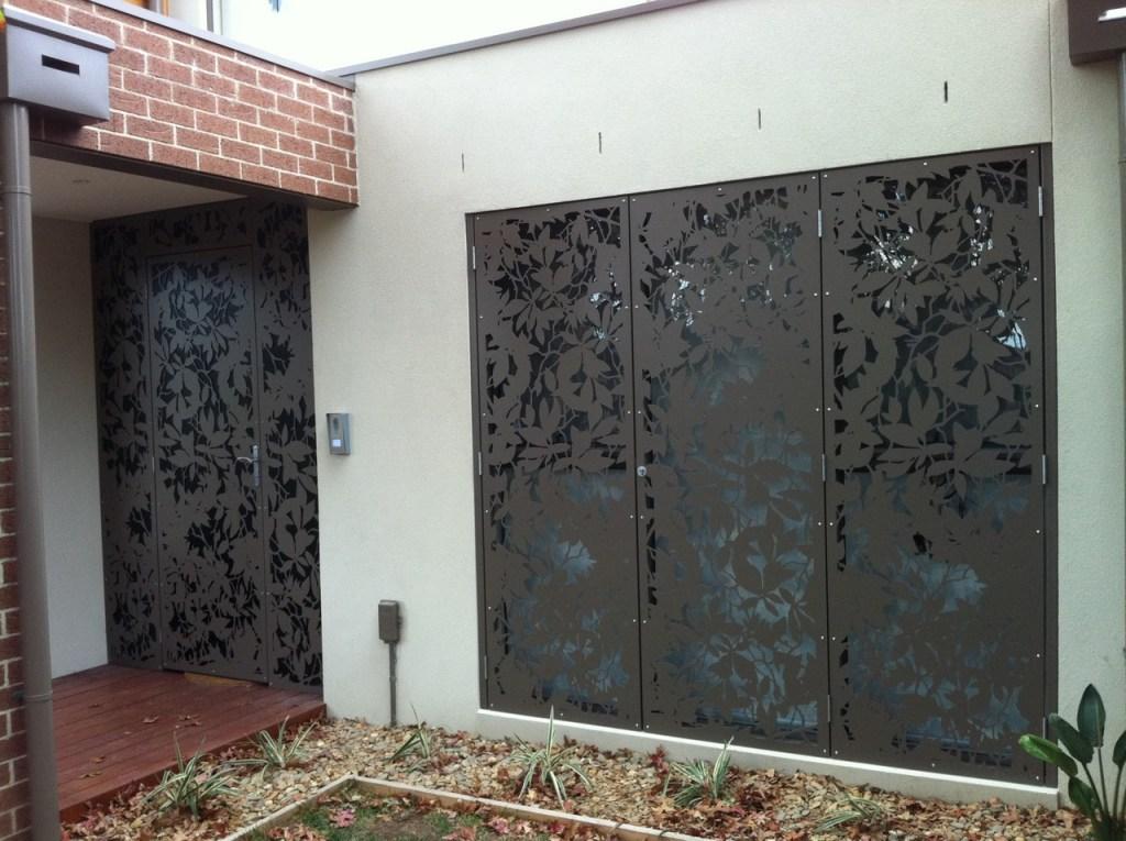 'Olinda Leaves' Decorative Doors