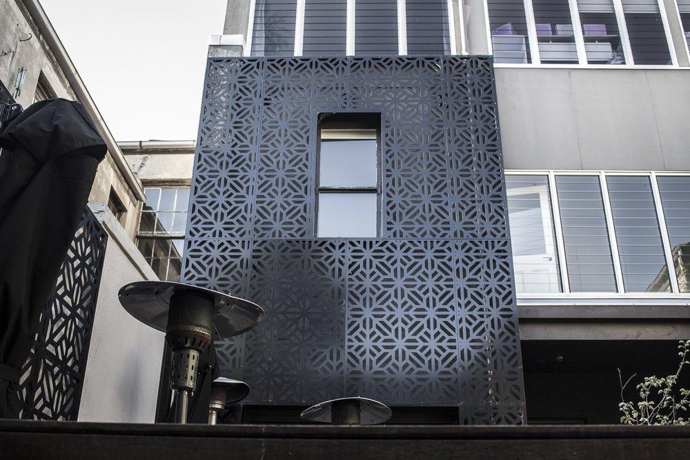 Laser cut Building Facades by PLR Design