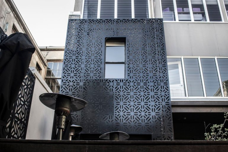 Laser cut Building Facades by PLR Design