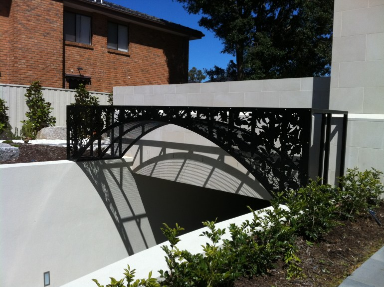 Laser cut Architectural Feature by PLR Design