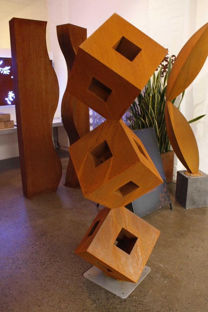 Zenith Corten steel sculpture by PLR Design