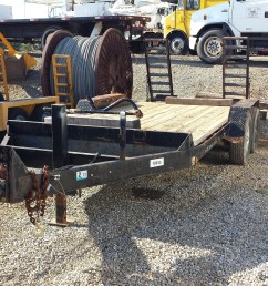 6 prong trailer plug electric brakes both axles safety breakaway system 83 deck width 102 overall width 16 deck length treated pine deck [ 4128 x 2322 Pixel ]