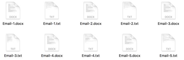 imagem de e-mails
