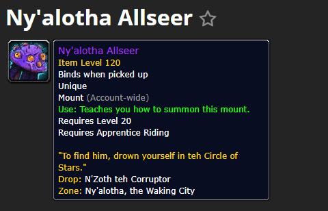 团本坐骑:尼奥罗萨全视者Ny alotha Allseer@PLS173.com
