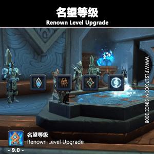 【美服】魔兽世界代练:名望等级