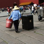 Waste Collector, Forbidden City, China