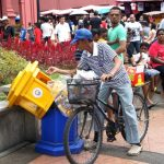 Malacca, unofficial rubbish collector