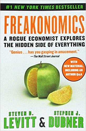 Freakonomics by Levitt and Dubner