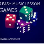 5 Easy Music Lesson Games