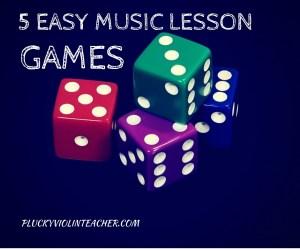 5 Easy Music Lesson Games fb