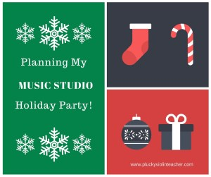 Games and Activities for Your Music Studio Holiday Party