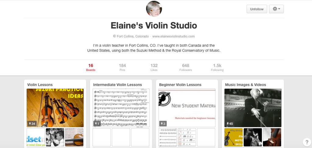 The Best Violin Teaching Pinterest Boards...