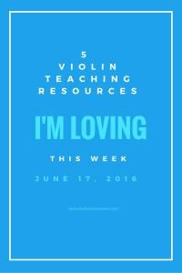 A Weekly Round-Up of Suzuki Violin Teaching Tips, Tricks, & Resources.