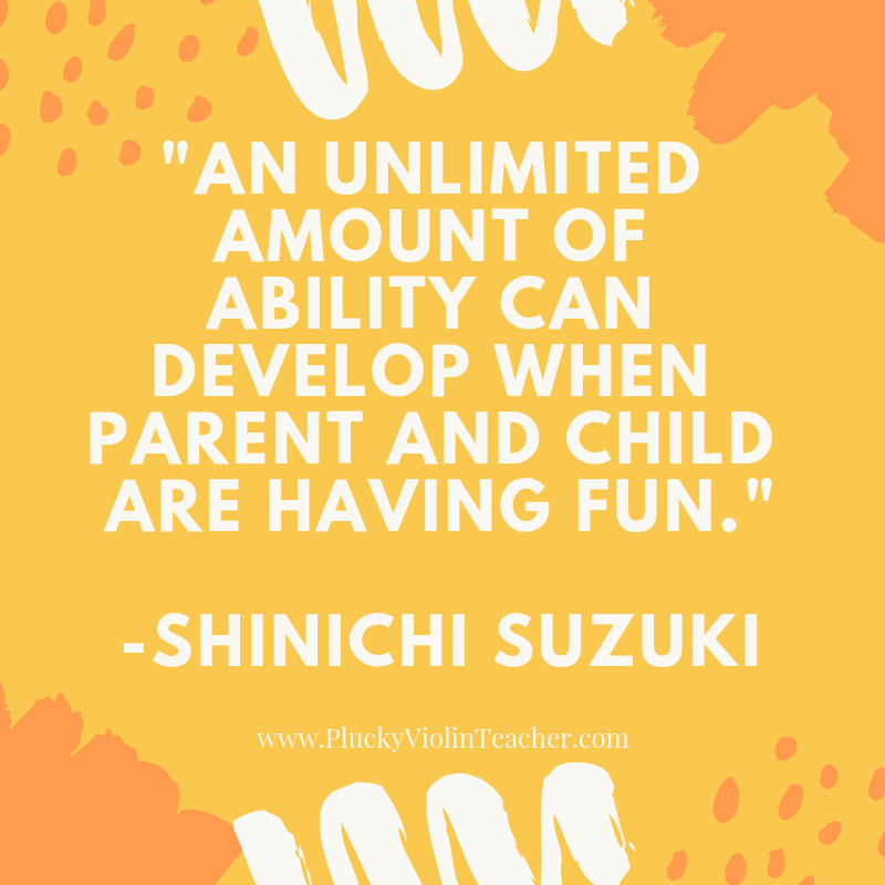 Why Suzuki music lessons are a great option for our family. via www.PluckyViolinTeacher.com