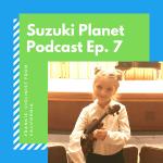Suzuki Planet Podcast Episode 7: Frankie, violinist from California