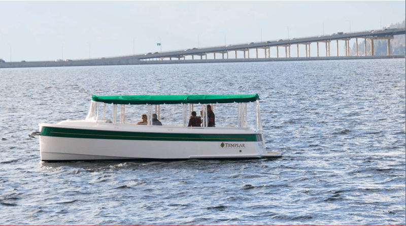 Temnplar Cruiser electric boat