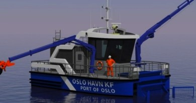 World's 1st electric harbour skimmer for Oslo