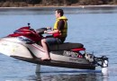 New hydrofoiling electric jetski WaveFlyer