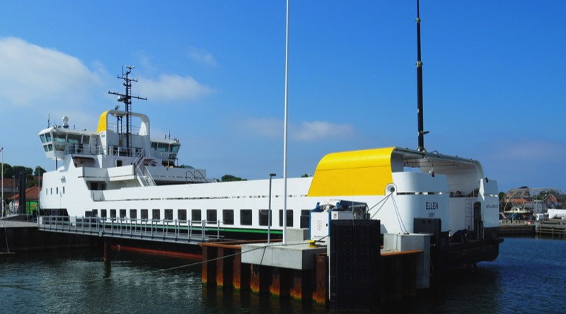 an electric powered ferry that hold 200 people