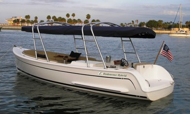 Electric boat from E-Powr Marine