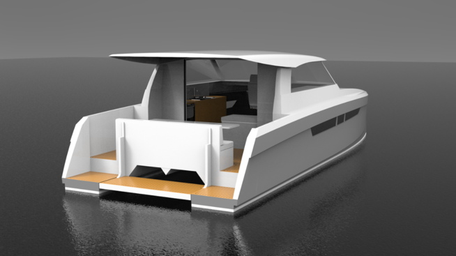 Electric boat from EPP New Zealand