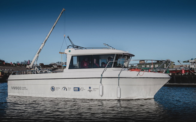 Electric Fishing Boat by VM