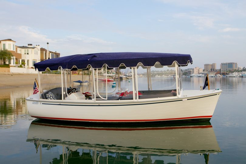 Electric boat from eco boats Austrailia