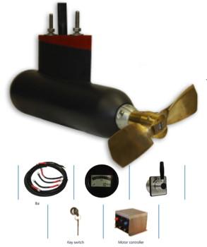 Aquamot-fixed-pod-electric-boat-motor