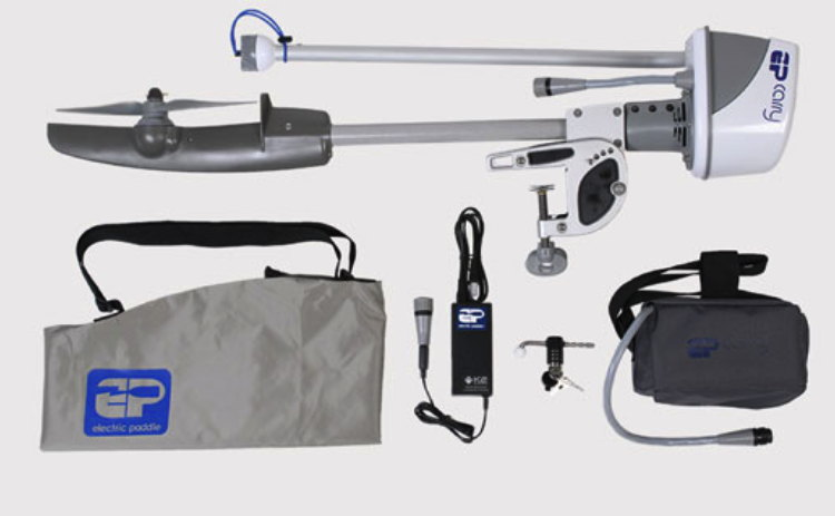 EPCarry electric boat motor package with all elements