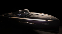 Electric chaseboat from Domani Yachts