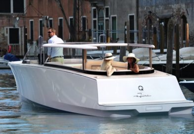World premiere: Q-Yachts electric boat eLimo