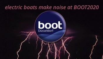 BOOT Dusseldorf logo and lightning bolt