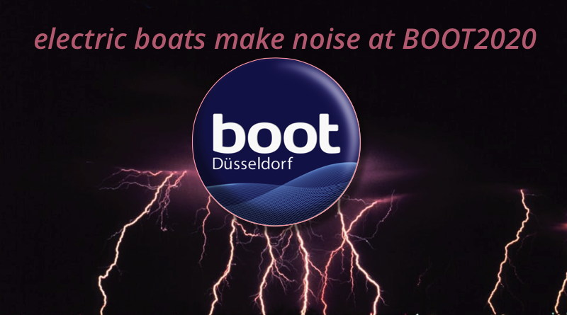 BOOT Dusseldorf logo and lightning bolt